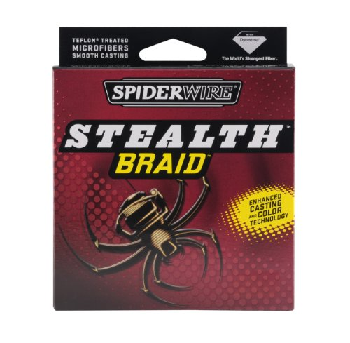 Spiderwire Stealth Superline Spools (Hi-Vis Yellow, 1500 Yards/200-Pound)