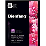 Speedball Art Products Bienfang pH Neutral Student Grade 9-Inch by 12-Inch Watercolor Paper Pad, 15 Sheets