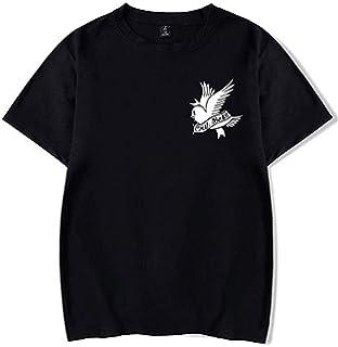 M Rip Lil Peep Shirt Fashion T Shirt Short Sleeve Crew Neck Tshirt for Men Teen