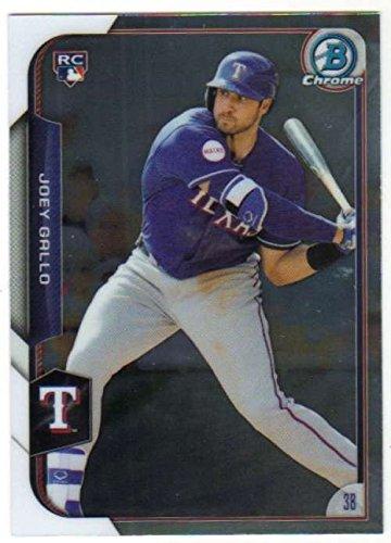 2015 Bowman Chrome #185 Joey Gallo Rangers MLB Baseball Card (RC - Rookie Card) NM-MT