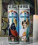 My Pen15 Club Luke Skywalker and Darth Vader Celebrity Prayer Candle Set - Star Wars