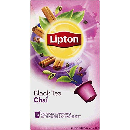 60 x LIPTON - Nespresso OriginalLine Compatible Capsules - BLACK TEA CHAI