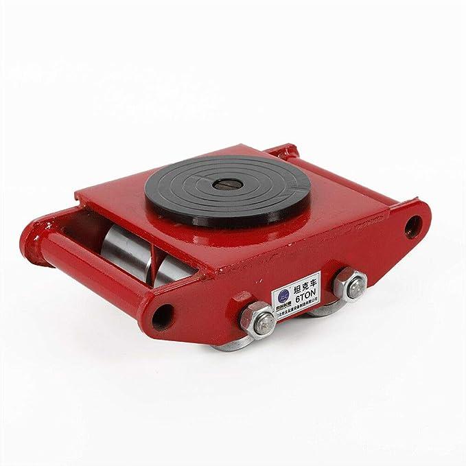 Machinery Mover TBVECHI 6T/13200lbs máquina de mover, máquina de patines de patines de patines de alta resistencia, color rojo: Amazon.es: Oficina y ...