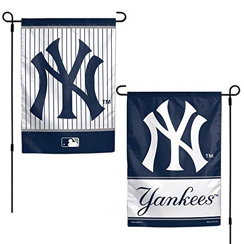 WinCraft MLB New York Yankees 12x18 Garden Style 2 Sided Flag, One Size, Team Color]()