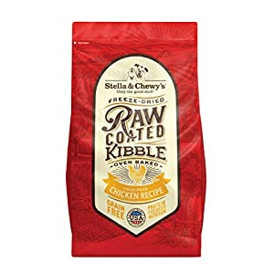 Stella & Chewy'S Raw Coated Chicken 3.5Lb Dry Dog Food 107