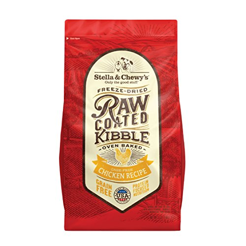 Stella & Chewy's Raw Coated Chicken 3.5Lb Dry Dog Food Review