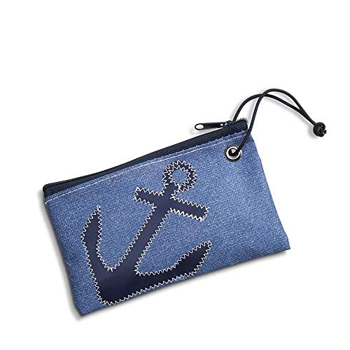 Sperry Top-Sider Sea Bags Anchor Wristlet Women One Size Chambray