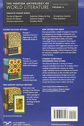 "norton anthology of world literature World book encyclopedia  ""the owl and the pussy-cat"" the norton anthology of children's literature ed jack zipes new york  mla literature cited."