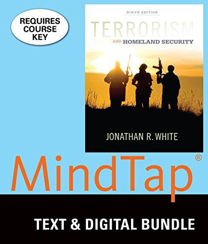 Bundle: Terrorism and Homeland Security, Loose-Leaf Version, 9th + MindTap Criminal Justice, 1 term (6 months) Printed A
