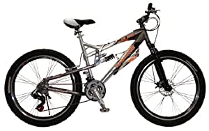 Mongoose Men's XR250 Bicycle (Grey) 26-Inch