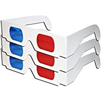 Yevison 1PCS 3D Glasses with Red /& Blue Lens Perfect for Visual Experience Adorable Quality and Practical