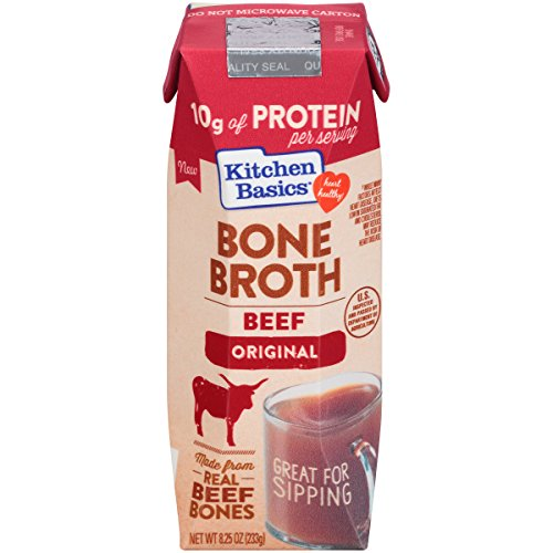 Kitchen Basics Original Beef Bone Broth, 8.25 Ounce (Pack of 12)