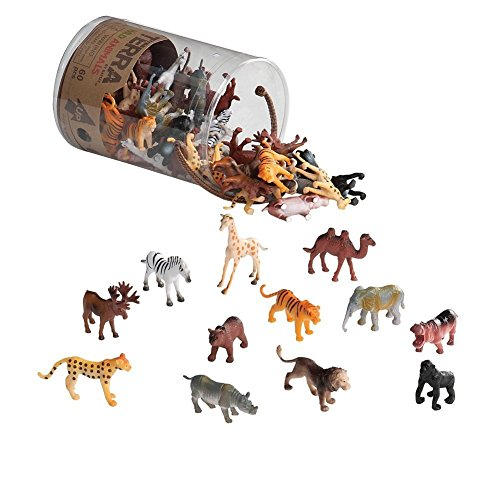 Wild Animals Action Figure Set