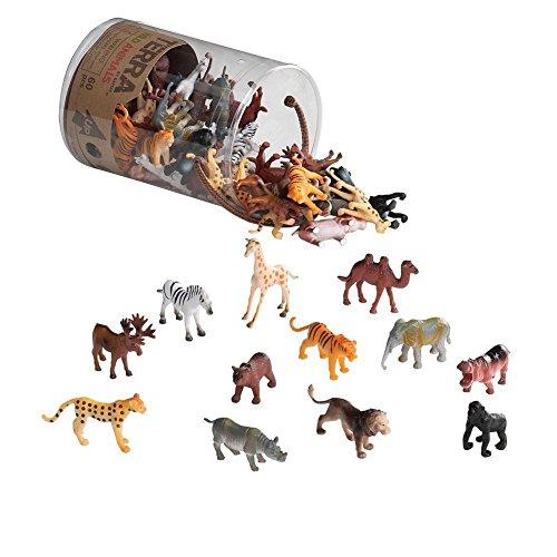 Wild Animals Action Figure Set