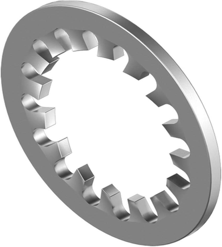 Sicherungsscheibe innengezahnt DIN 6797 50 STK M4 IZ Zahnscheibe Edelstahl A2
