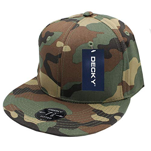 - DECKY Retro Fitted Cap-6 7/8-Camouflage