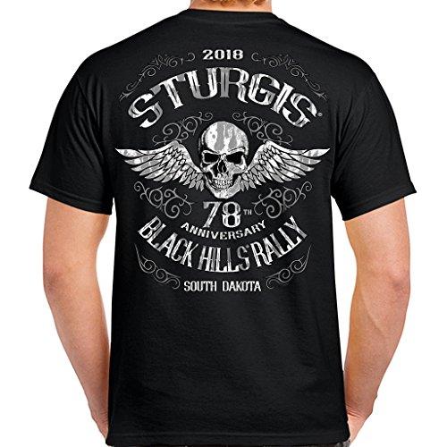 Biker Life USA 2018 Sturgis Black Hill Rally Ascended Skull ()
