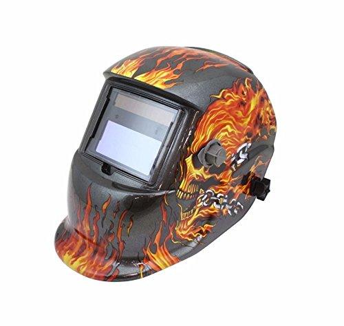 Utilizes Built-In Welding Helmet Solar Auto Darkening Certified MaskUV/IR (Custom Built In Hood Liner)