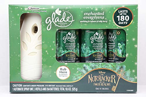 Glade Automatic Spray Set Enchanted EverGreens Limited Edition