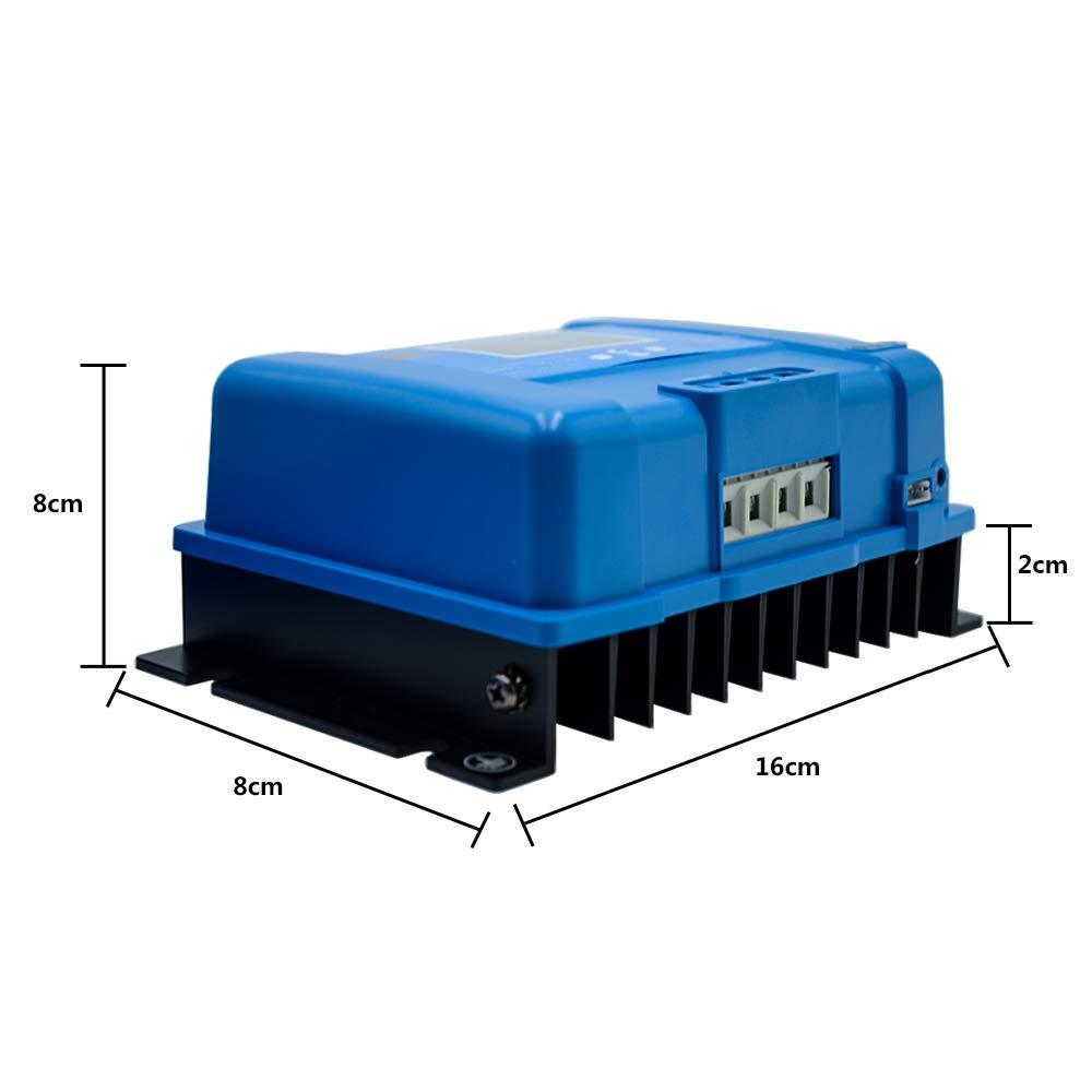 HopeU5 R/égulateur solaire 75//10 MPPT 12V 10A