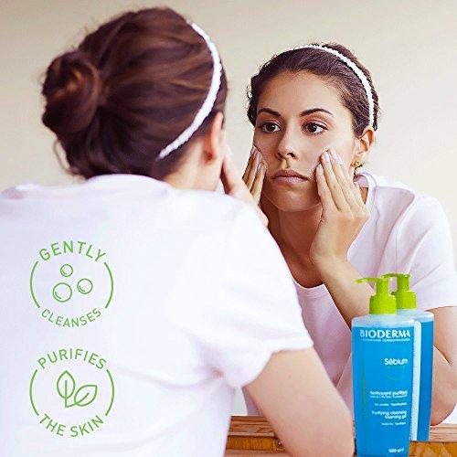 Bioderma Sebium Foaming Gel Facial Cleanser for Combination to Oily Skin 3