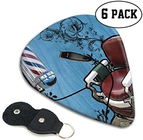 [해외]Xzyauza Haircut Red White Blue Stripes 6 Pack Celluloid Guitar Picks Mandolinand Bass 0.46mm 0.71mm 0.96mm Optional / Xzyauza Haircut Red White Blue Stripes 6 Pack Celluloid Guitar Picks Mandolin,and Bass 0.46mm, 0.71mm, 0.96mm Opt...
