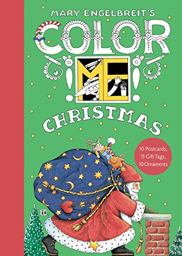 Mary Engelbreit's Color ME Christmas Book of Postcards]()