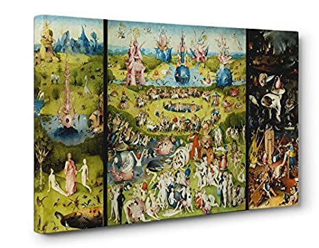 Hieronymus Bosch Garden of Earthly Delights Box Canvas Print