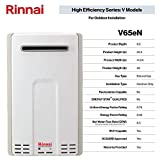 Rinnai V65eN Tankless Hot Water Heater, Large