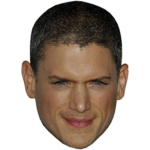 Wentworth Miller Celebrity Mask  Card Face And Fancy Dress Mask