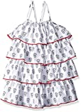 Hatley Girls' Little Layered Dress, Shadow Flowers, 5 Years