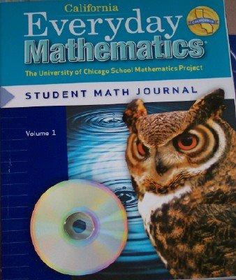 Everyday Mathematics Grade 5 California Student Math Journal Volume 1 (The University of Chicago School Mathematics Project)