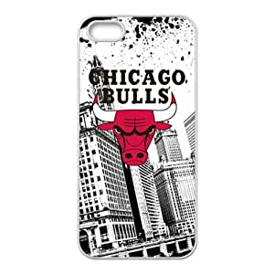 DAZHAHUI Chicago Bulls Brand New And Custom Hard Case Cover Protector For Iphone 5s