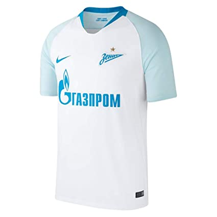 1229757c9aa05 Amazon.com : Nike 2018-2019 Zenit Away Football Soccer T-Shirt ...