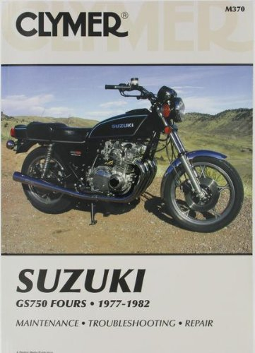 Clymer Repair Manual for Suzuki GS750 GS-750 Fours 77-82