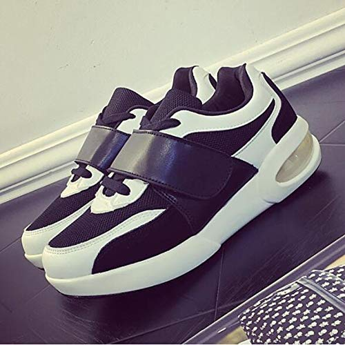 Comfort Flat Mujer Round Zapatos Blanco Toe Heel ZHZNVX PU Black Sneakers Negro de Poliuretano Primavera Verano 0CFApwqx