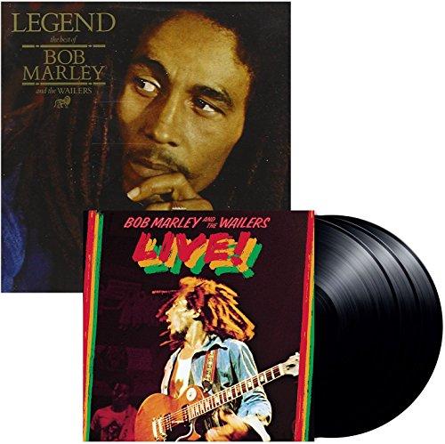 Legend - Live (3 Disc) - Bob Marley & The Wailers - 2 Vinyl LP Bundling - 180 gram incl. MP3 Download (Bob Marley And The Wailers Live Vinyl)