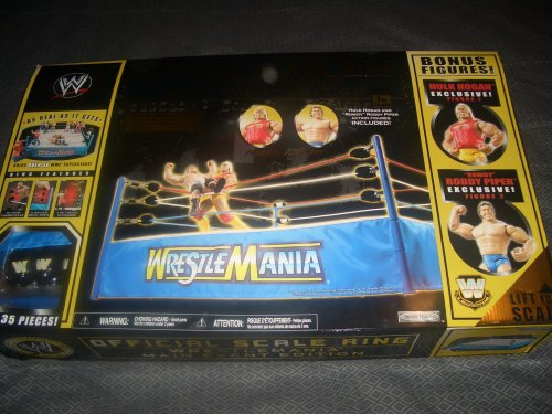 Official Scale Ring Wrestlemania Main Event Edition 1 of 10,000 by WWE