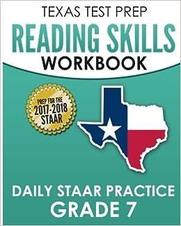 Amazoncom Texas Test Prep Reading Skills Workbook Daily Staar
