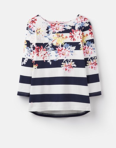 ur Printed Jersey Top Stripe WHITSTABLE Floral 10 ()