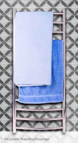 Elektrischer Handtuchwärmer Handtuchtrockner Handtuch Bad Heizkörper