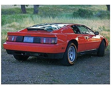 1988 Lotus Esprit Turbo Factory Photo
