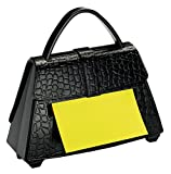 Post-it Super Sticky Pop-up Notes Dispenser for 3 in x 3 in Notes, Black Purse (PD-654-US)