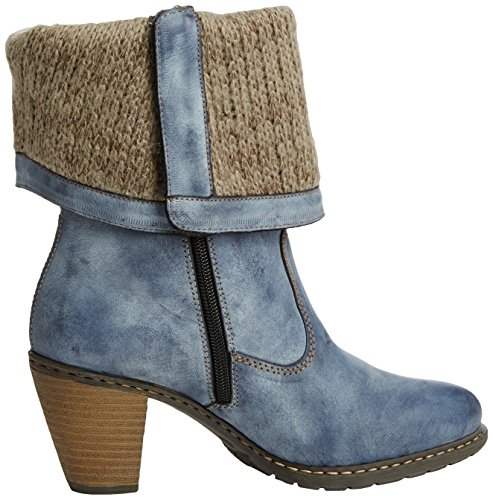 RiekerZ1571-14 - botas mujer azul - azul (azul)