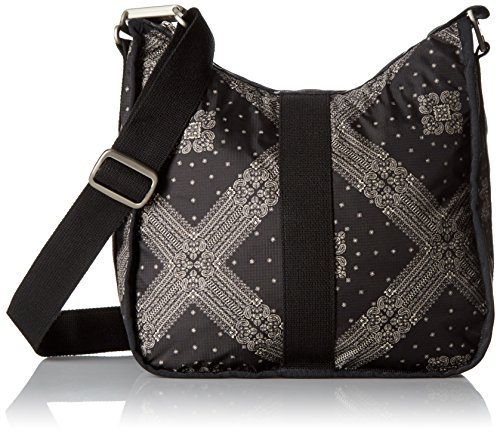 Lesportsac Essential Weekender Hobo - Star Guides Black C...
