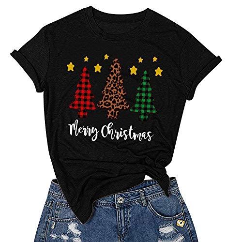 Loose Women Halloween (Women Casual Halloween Print Short Sleeves O-Neck Loose T-Shirt Blouse Tops (XL,)