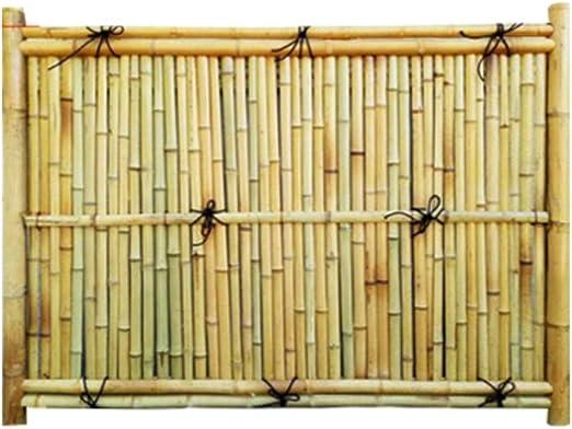 ZENGAI-vallas De JardíN Valla para Exteriores Cerca De Bambú Antiséptico Villa Al Aire Libre Cerca Barandilla Patio Cortar Casa Folk Decoración 4 Estilos (Color : B): Amazon.es: Jardín