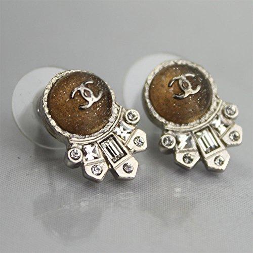 Chanel Cc Logos Pierced Earrings A93320 (Chanel Logo Earrings' Cc)