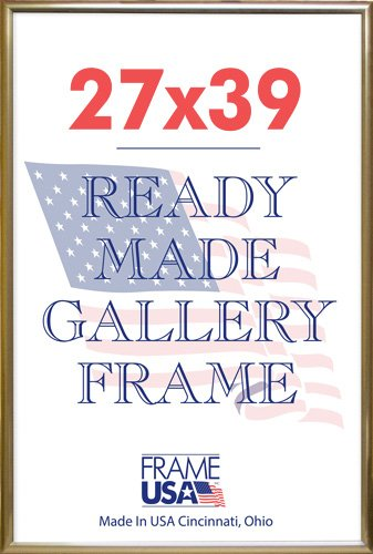 27 X 39 Deluxe Poster Frame (Gold): Amazon.co.uk: Kitchen & Home