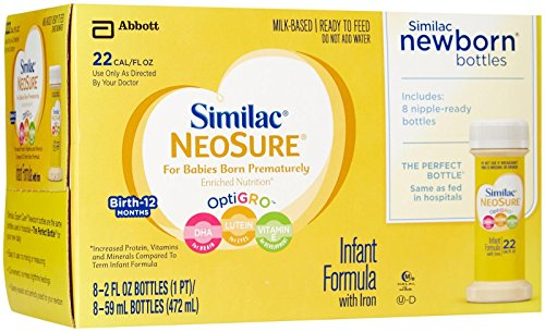 Similac Expert Care Neosure Baby Formula - Nursers - 2 oz - 48 pk